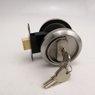 stainless steel 304 sliding door key lock