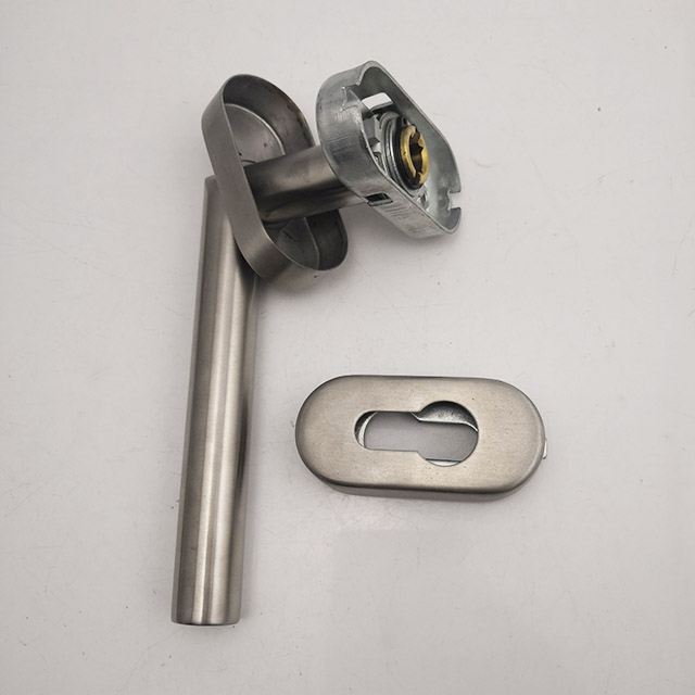Stainless Steel 304 LED glass /wooden Door Handle