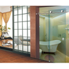 SUS304 Sliding Glass Door System Shower Door Hardware Bathroom Glass Fitting