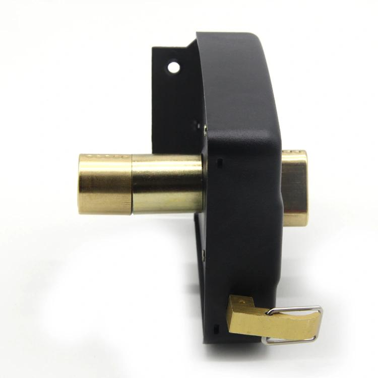 Middle East Type Safety Door Rim Lock with 140mm Case Length