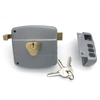 120mm Mexico Model Brass Chapa Cerradura Fichadura Night Latch Solid Cylinder Security Chain Door Rim Lock