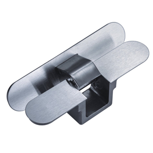 130 Degree Stainless Steel Conceal Hinge for Invisible Doors Concealed Doors Large Solid Wood Cabinet Doors Cloakrooms