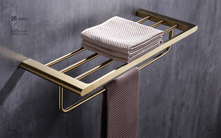 Towel Rack Holder Single Towel Bar Rail