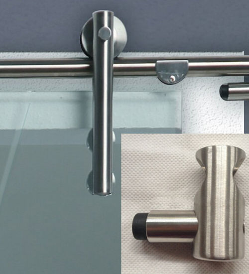 Modern Interior Stainless Steel Sliding Glass Door Hardware Popular for American Market