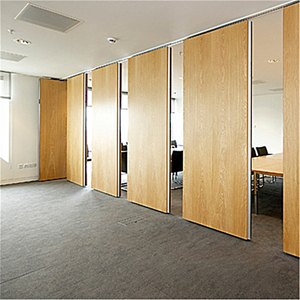 High Quality Movable Sliding Acoustic Panel Wood Sliding Wall Partitions