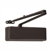 Extra Heavy Duty Commercial Door Closer Surface Mounted Dark Bronze ANSI/BHMA Grade 1 Cast Iron UL Door Clsoer