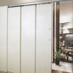 Stainless Steel Horizontal Blinds Sliding Buffer Self-closing Overlapping Wooden Doors Hardware