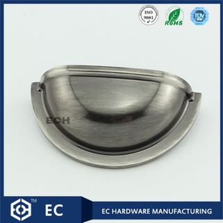 Zinc Alloy Half Round Drawer Handle (B0015)