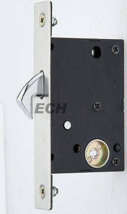 China Supplier Stainless Steel Glass Sliding Door Lock Body (ESD-017)