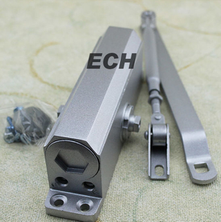 Silver Steel Door Closer for Fire-Proof Door (EDC015)
