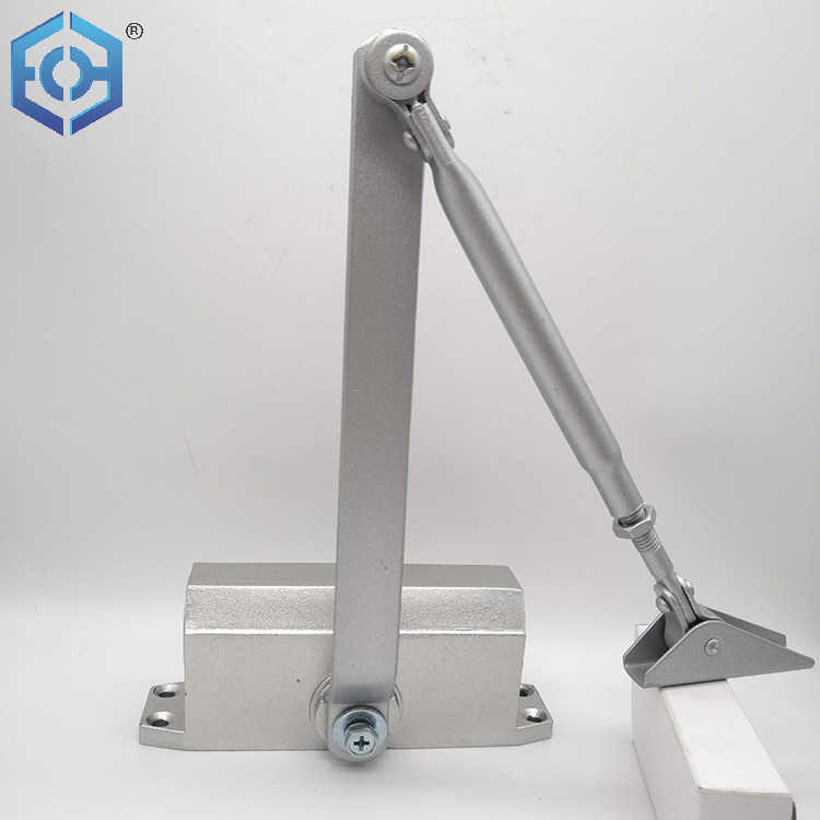 Ce Listed UL Fried Rate Certified Black Aluminium Silent Hydraulic Automatic Hidden Concealed Large Heavy Duty Door Closer