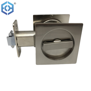 Toilet Pocket Cavity Handle Door Sliding Bathroom Security Closet Lock