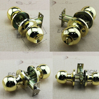 Hot Sale Gold Stainless Steel Door Lock (LM687)