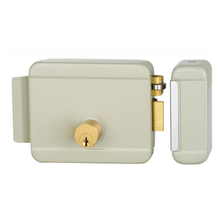 Smart Single Cylinder Electronic Door Lock Electric Rim Lock