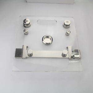 Frameless Glass Sliding Door Accessories Stainless Steel Hardware for Bathroom Shower Screen