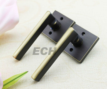 Acb Decorative Square Brass Solid Door Handle (BH-0220)