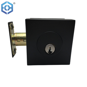 Heavy Duty Zinc alloy Latch Tongue Brass Blug Deadbolt Mechanical Locks