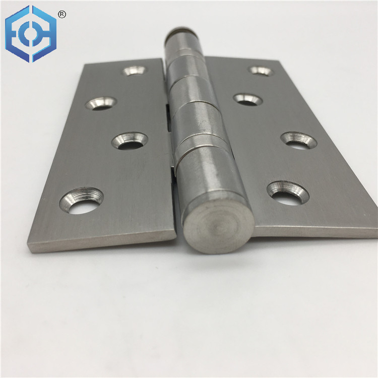 Wooden Accessories Door Hardware Two Ball Bearing Stainless Steel Door Hinges