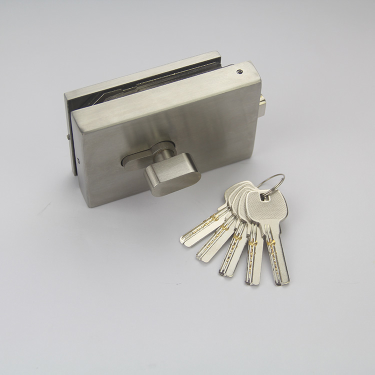 Office Stainless Steel Glass Hardware Security Door Safe Lock