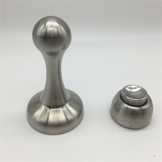 China Wall Mounted Stainless Steel security Magnetic Door Stopper