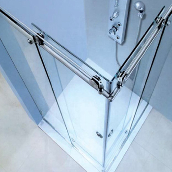 Two Side Standard Sliding Glass Door Size Frameless Glass Shower Doors
