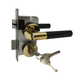 Commercial Security Classroom Storeroom Front Door Handleset Lockset Door Locks with Lock And Key
