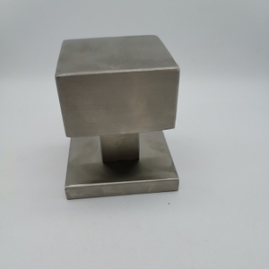 SSS Stainless Steel Square Door Handle Knob