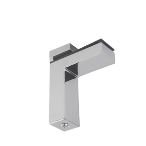 F-shaped Glass Shelf Clamps Bracket Holder Bracket for Glass Shelf