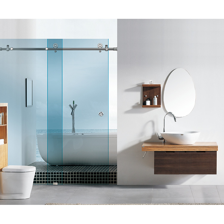Full Set Of Sliding Door Glass Fitting Bathroom Accessories