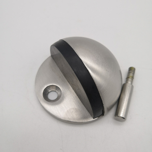 SSS Stainless Steel 304 Modern Half Ball Foor Mounted Door Stopper