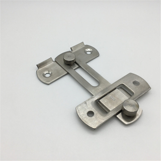 Bathroom Hardware Toilet Door Lock Stainless Steel Door Bolt Lock