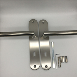 Door Handle Long Plate Internal Internal Door Handle Bathroom Door Handle Round Door Handle BB