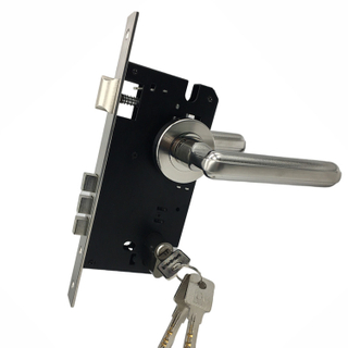 Stainless Steel Old Style Best Mortise Keyed Front Door Lock Set for Home