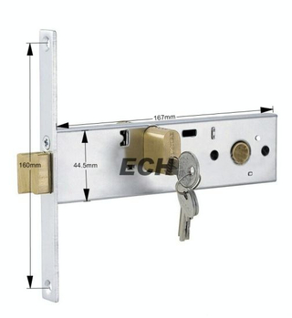 Aluminum Alloy Sliding Door Bolt Lock