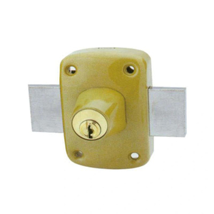 China Factory High Security 458 Door Rim Lock for French Market