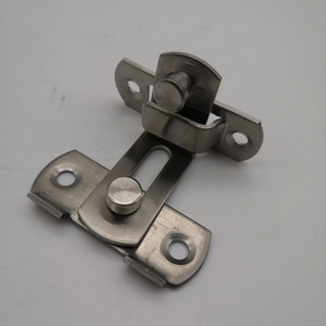 90 Degree Stainless Steel Slide Bolt Door Safety Guard Latch