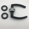 New Arrival Stainless Steel Hollow Black Interior Lever Door Handle