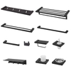 Home Hardware Stainless Steel Black Bathroom Accessories Set