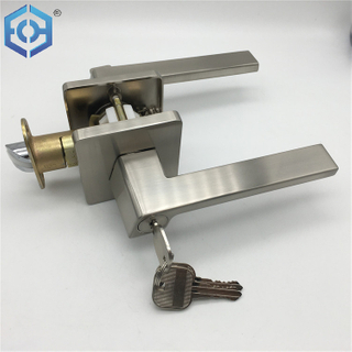 SN Safe Solid Zinc Alloy Mechanism Double Sided Door Handle Lever Lock