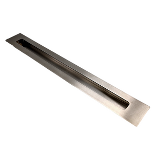 SSS Stainless Steel Long Kitchen Concealed Pulls Embedded Cabinet Door Grab Handle