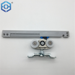 Zinc Alloy And Aluminum Alloy Soft Closing Sliding Door Rollers System for Wooden Door