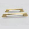 golden or black zinc alloy Pull Handle for Kitchen Cabinet Handle
