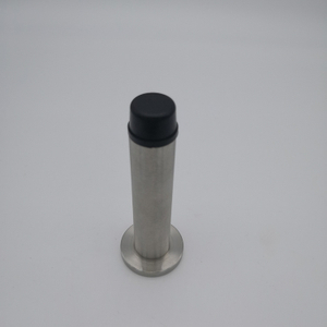 SSS stainless steel rubber best type of door stopper(DS044-SSS)