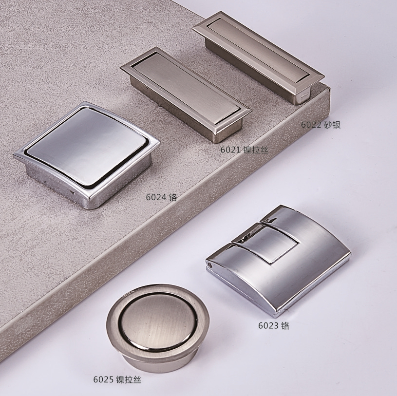 Zinc Alloy cabinet door hardware kitchen unit handles