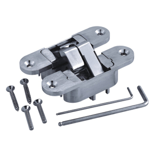 180 Degree Zinc Alloy 3D Adjustable Concealed Interior Door Hinge