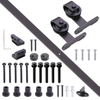 Cast Iron Roller Hardware for Sliding Barn Door