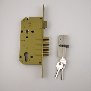 India lock stainless steel yellow best mortise locks (MLE014)