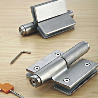 (H086) New Product Hardware Aluminum Alloy 3D Hydraulic Hinge