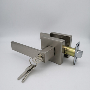 SN Zinc Alloy Door Lock / Bathroom Door Lock America lockset residential tubular lever lock