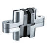 2 X Hidden Cross Hinge Invisible Concealed Hinges Folding Door Hinge Durable